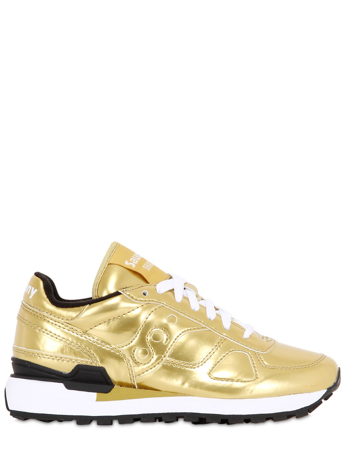 ece25691275d Saucony Sneakers In Shadow Leather Men Metallic O  Lyst For P4YdZnzPW