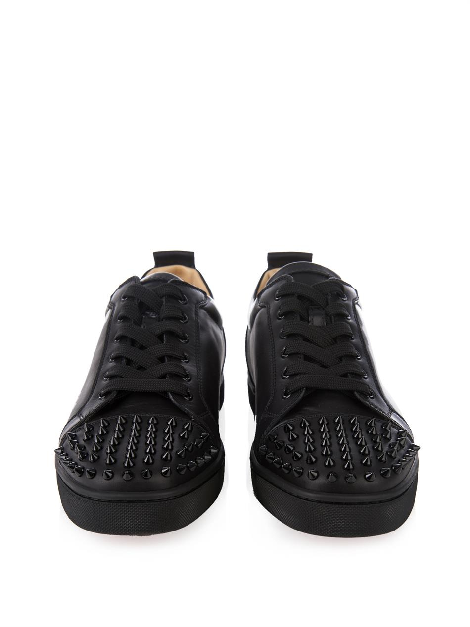 Christian Louboutin Patent Leather Low Trainers FZEf7yo9