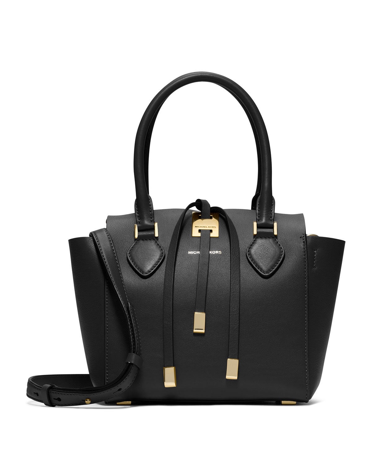 black and gray michael kors bag f759  Gallery