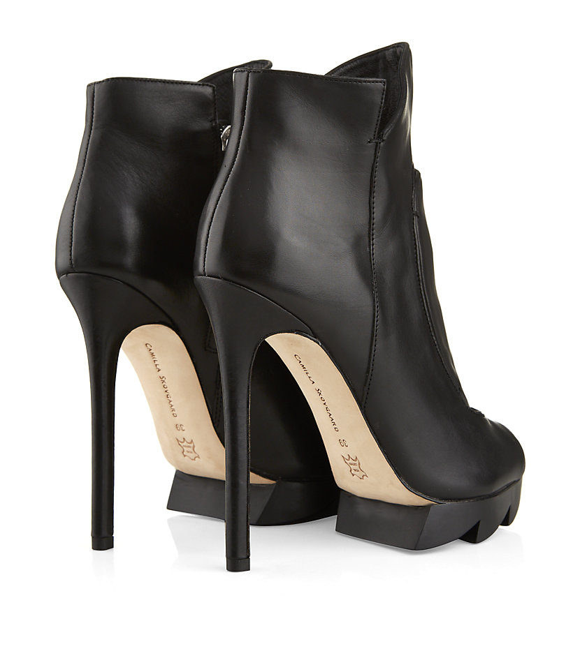 Camilla Skovgaard Flame Ankle Boot in Black
