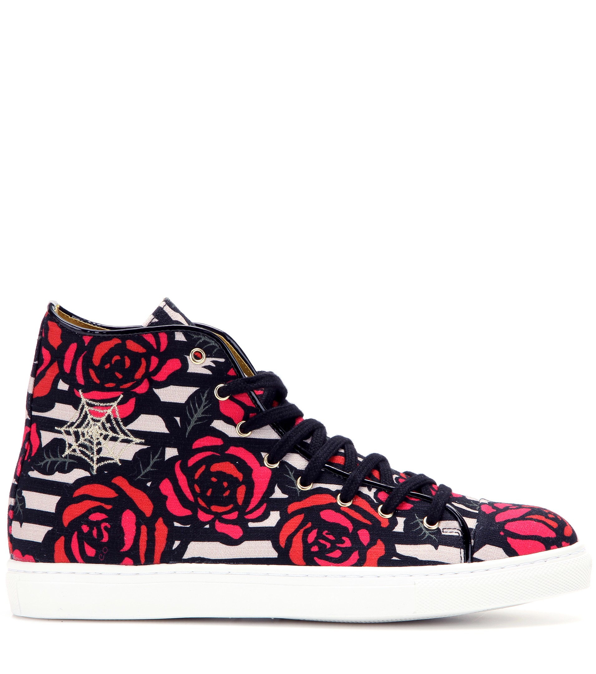 Charlotte Olympia Printed High-top Sneakers