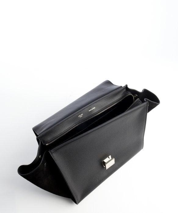 celine exotic leathers handbag trapeze
