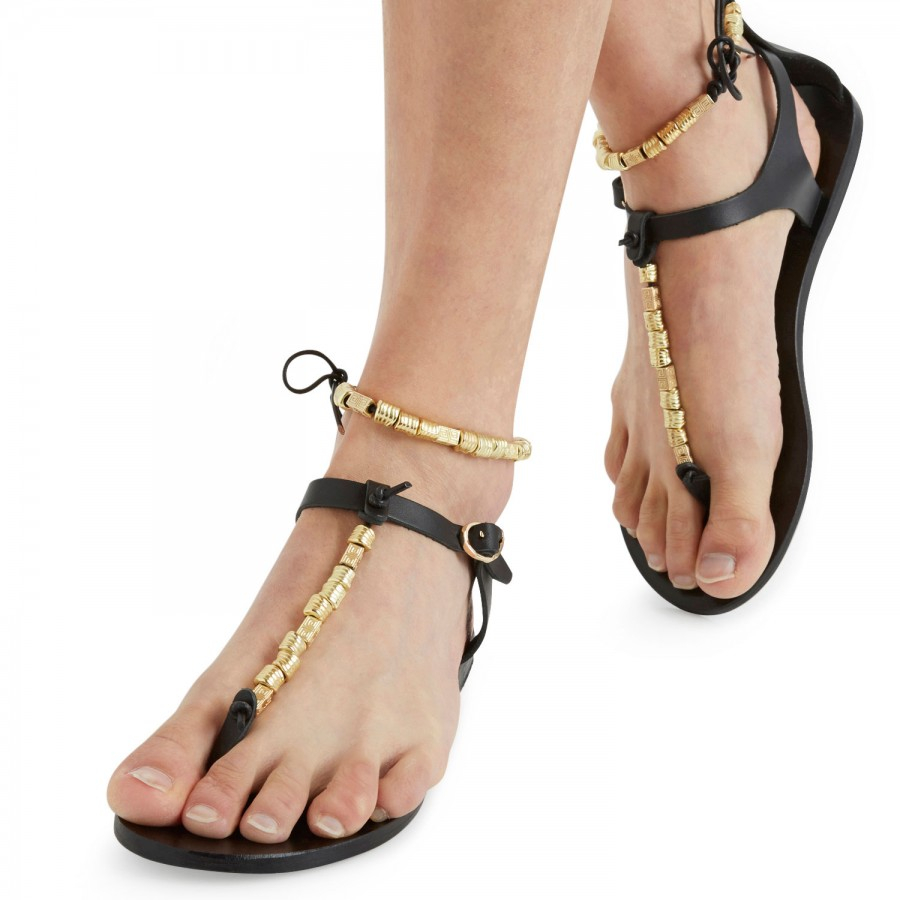 Ancient Greek Sandals Chrysso Metallic Sandals cheap best place qvAAg