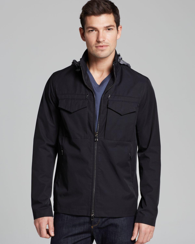 Michael kors Lightweight Tech Jacket in Black for Men | Lyst