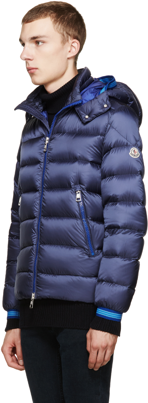 17a796836 Moncler Blue Navy Down Thoule Jacket for men