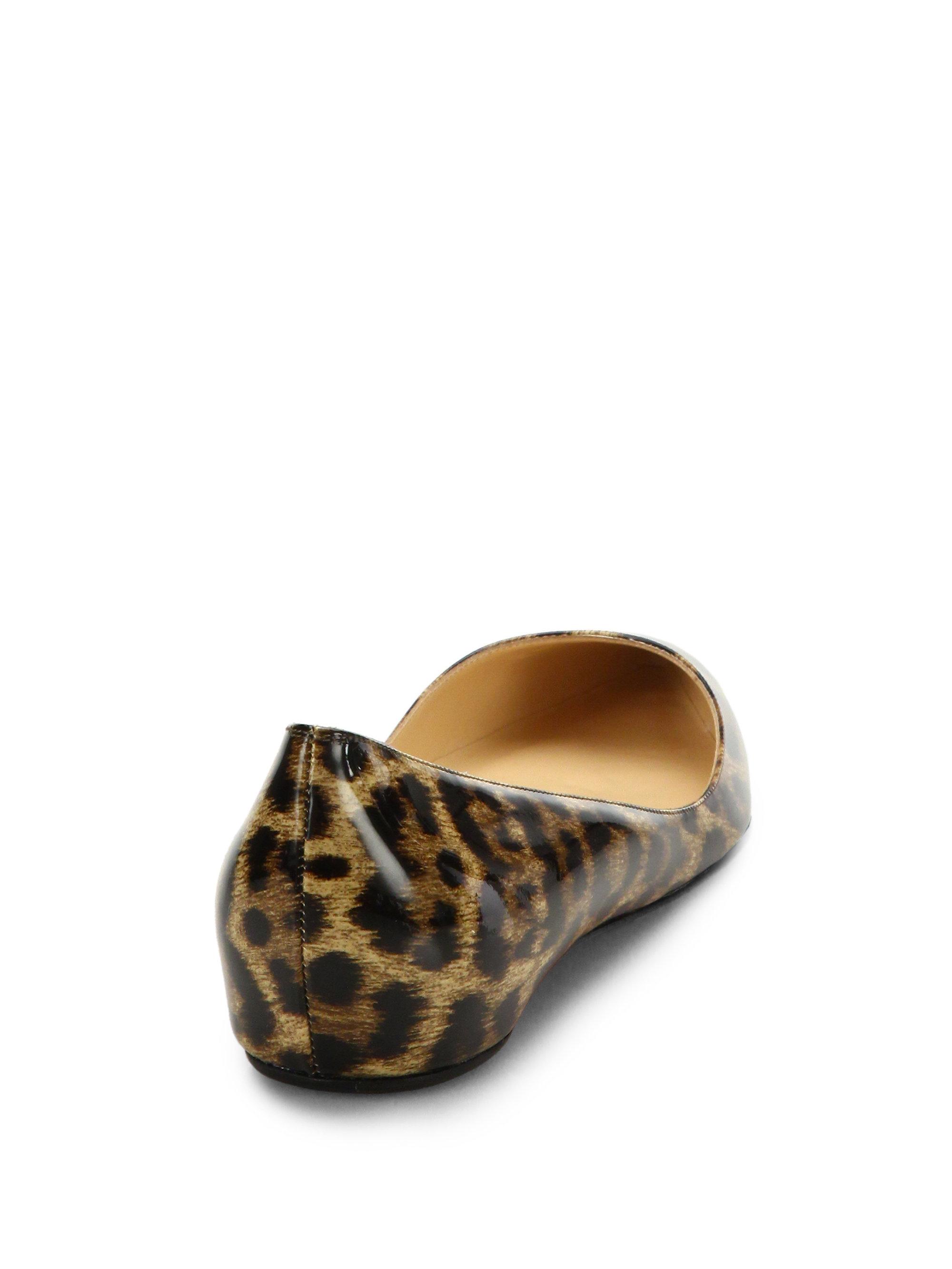 More Details Aquazzura Stylist Leopard-Print Ballet Flats Details Aquazzura ballet flats in leopard-printed dyed calf hair (New Zealand).
