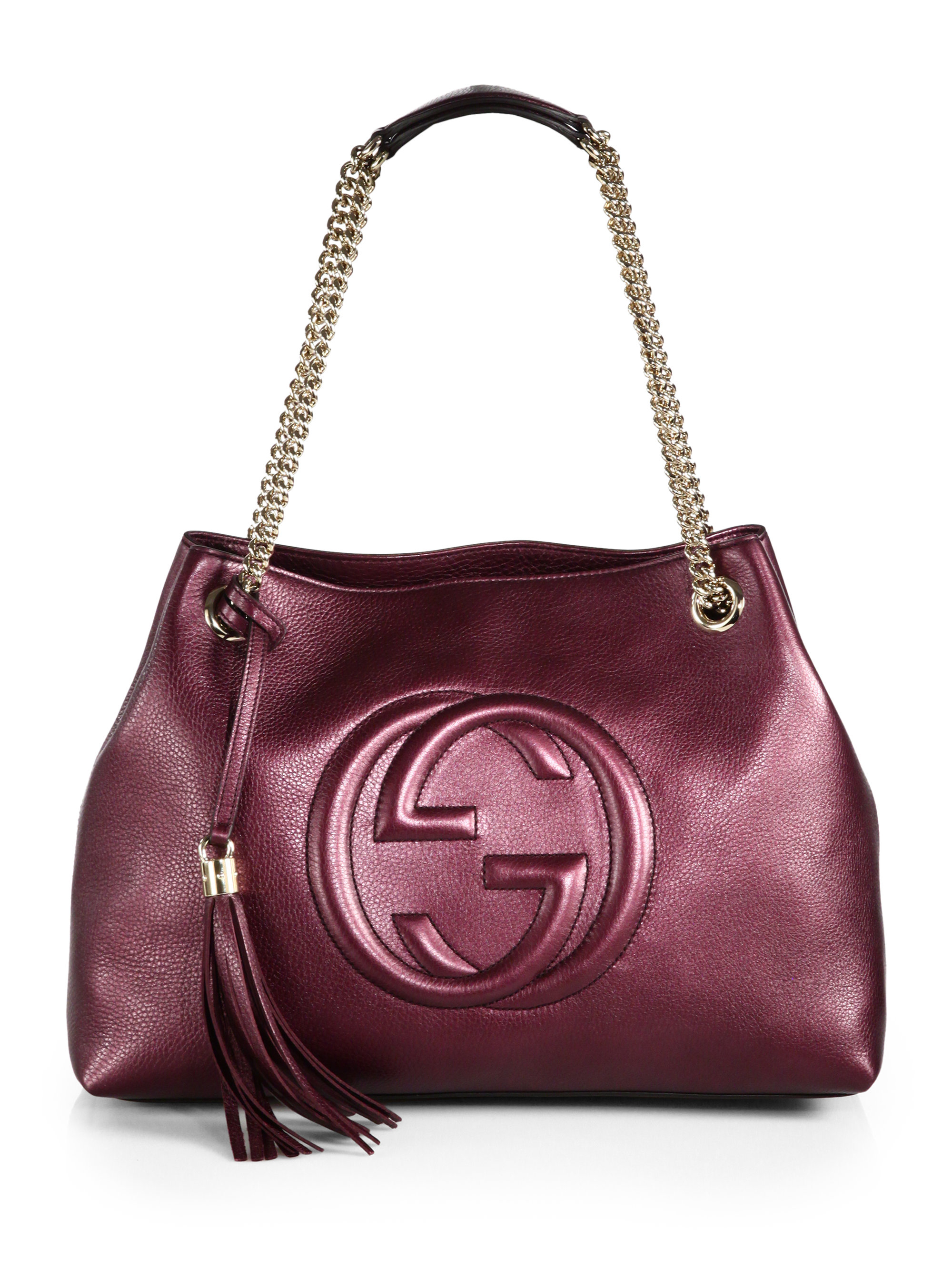 39cca5362e6 Gallery. Previously sold at  Saks Fifth Avenue · Women s Gucci Soho Bag