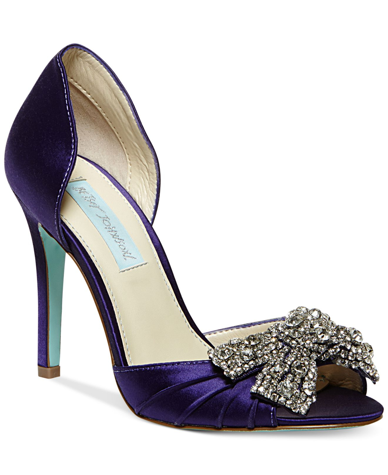 Betsey johnson Blue By Gown Evening Pumps in Purple   Lyst