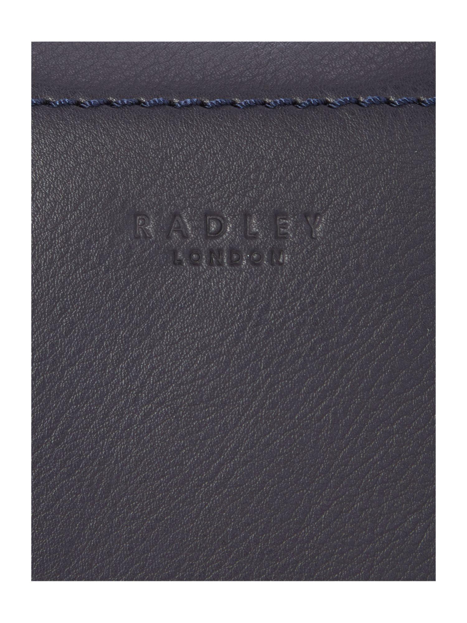 Radley Finsbury Park Navy Small Crossbody Bag in Blue