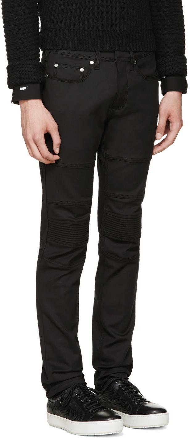 slim biker jeans - Black Neil Barrett fP0u4bQb