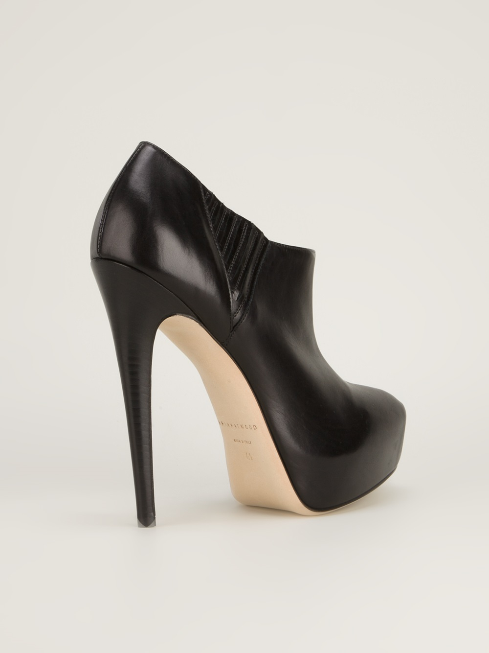 Brian Atwood 'Nolita' Ankle Boot in Black