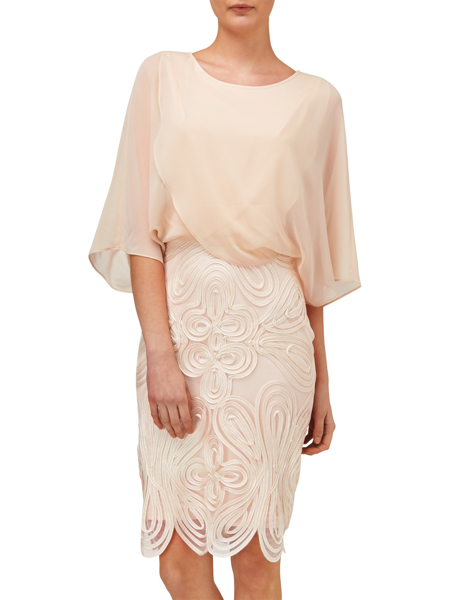 Phase Eight Laura Dress In Natural Lyst