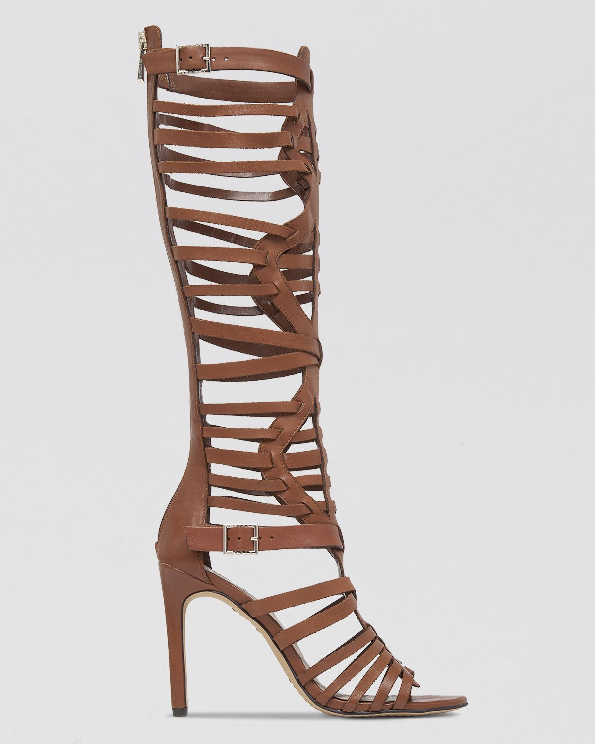 Vince camuto Gladiator Sandals - Kase High Heel in Black | Lyst