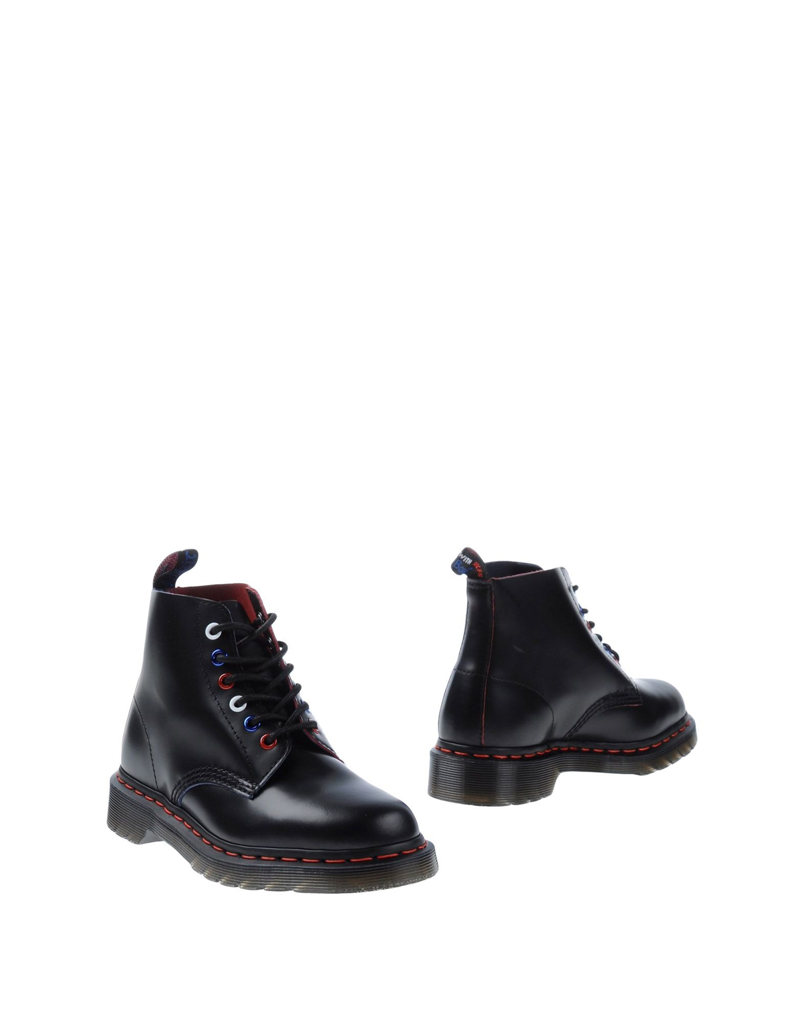 dr martens ankle boots in black lyst