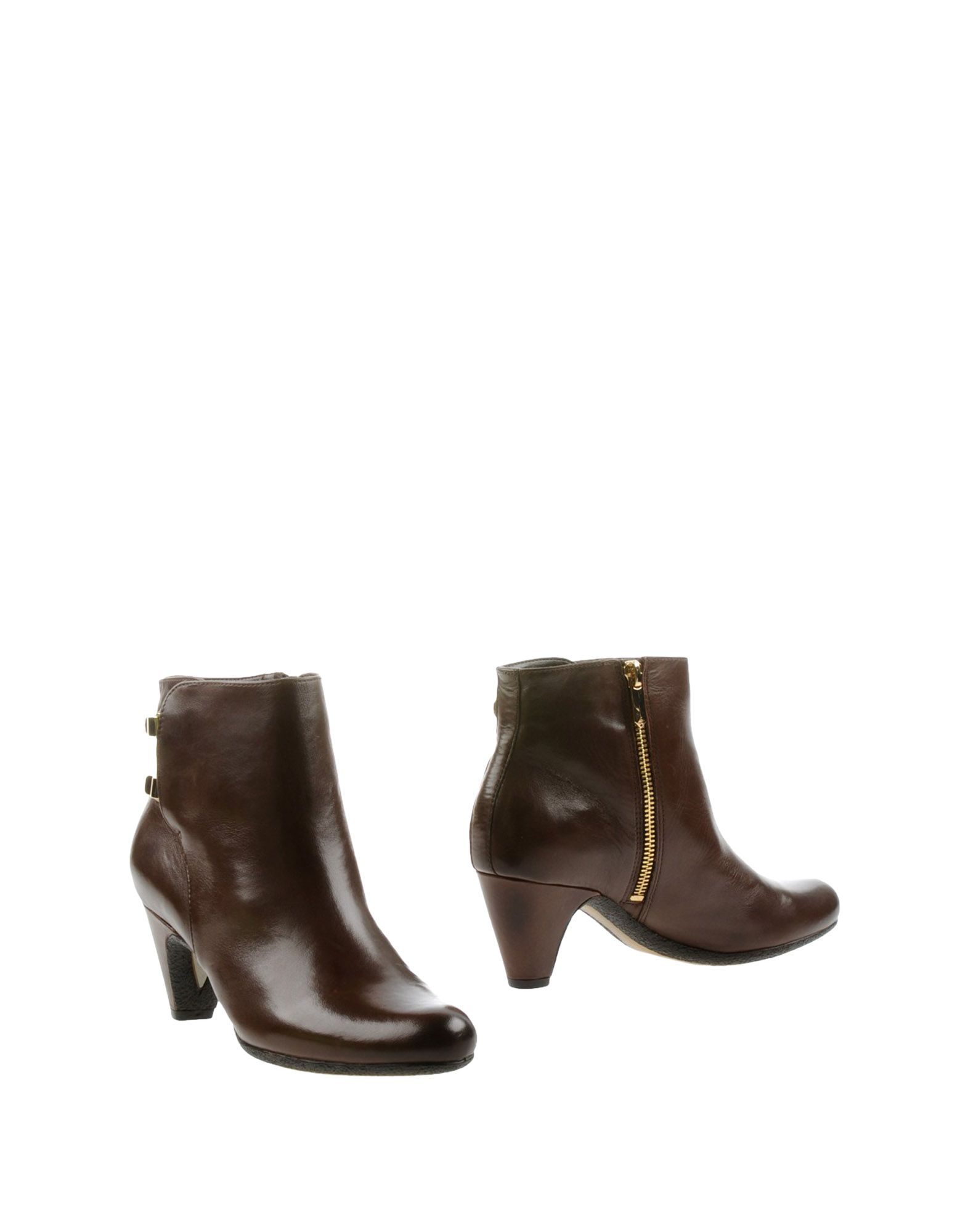 sam edelman ankle boots in brown cocoa lyst