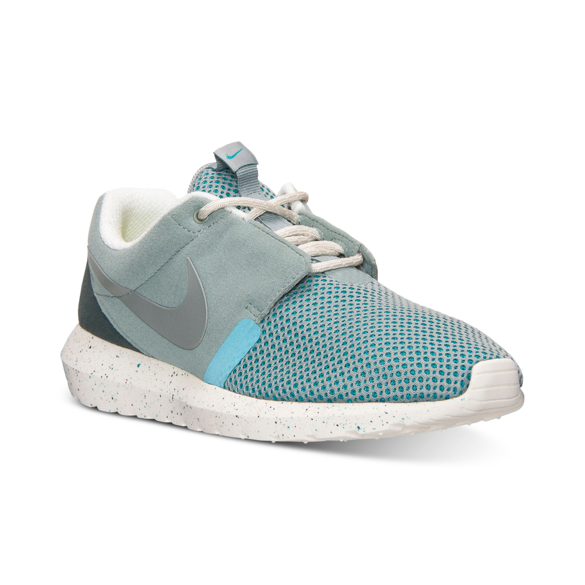 nike mens roshe run nm breeze casual sneakers from finish. Black Bedroom Furniture Sets. Home Design Ideas