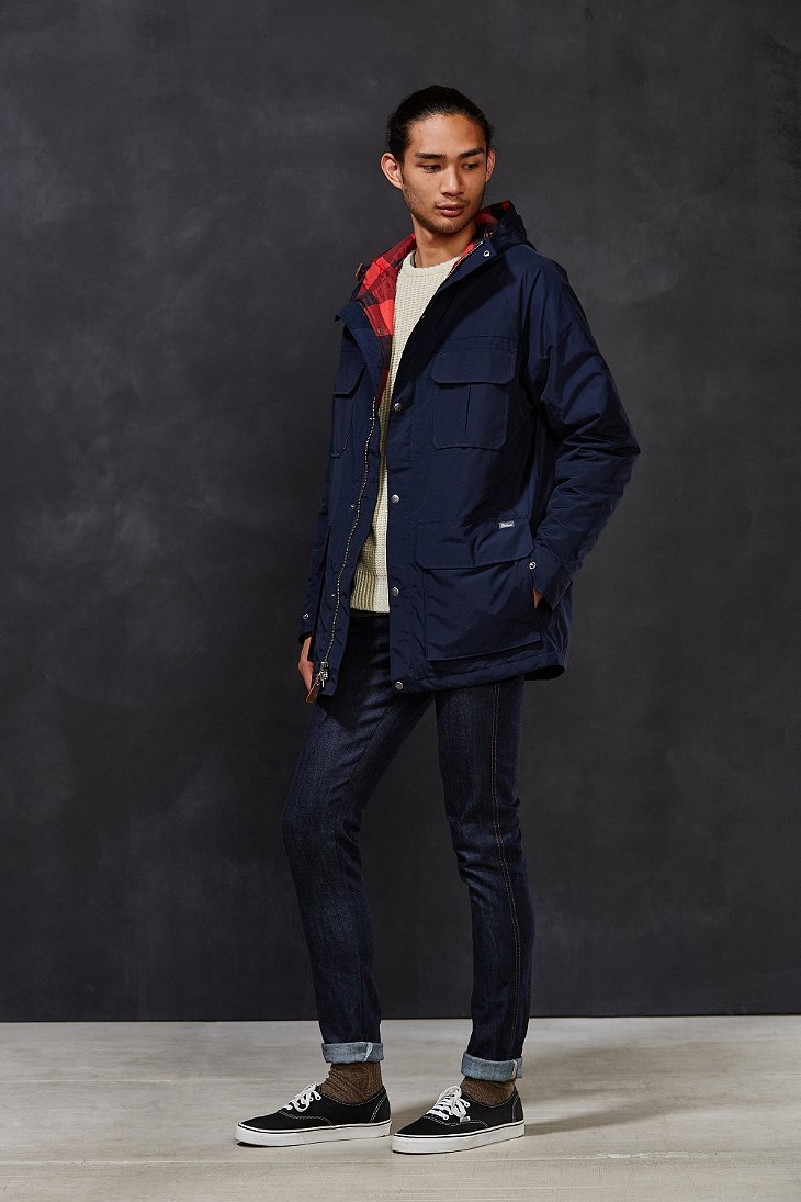 Gallery - Woolrich Advisory Insulated Parka Jacket In Blue For Men Lyst