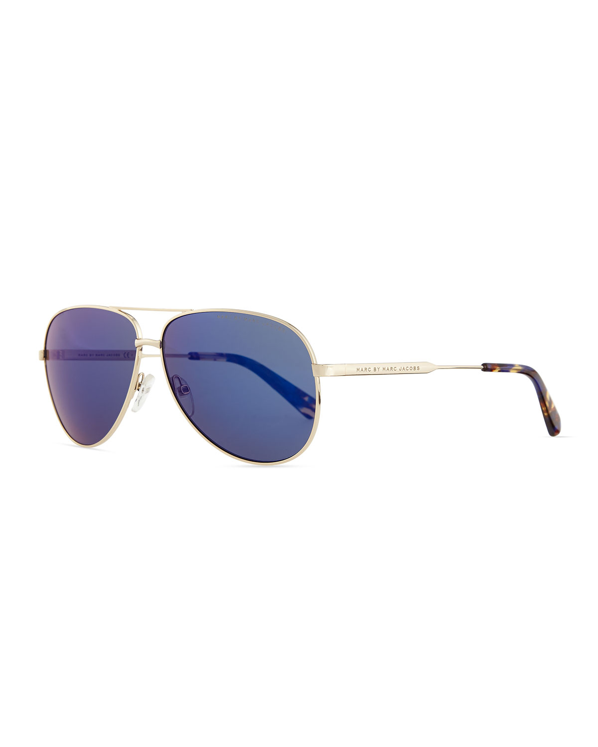 875971ed80d1 Blue Lens Aviator Sunglasses