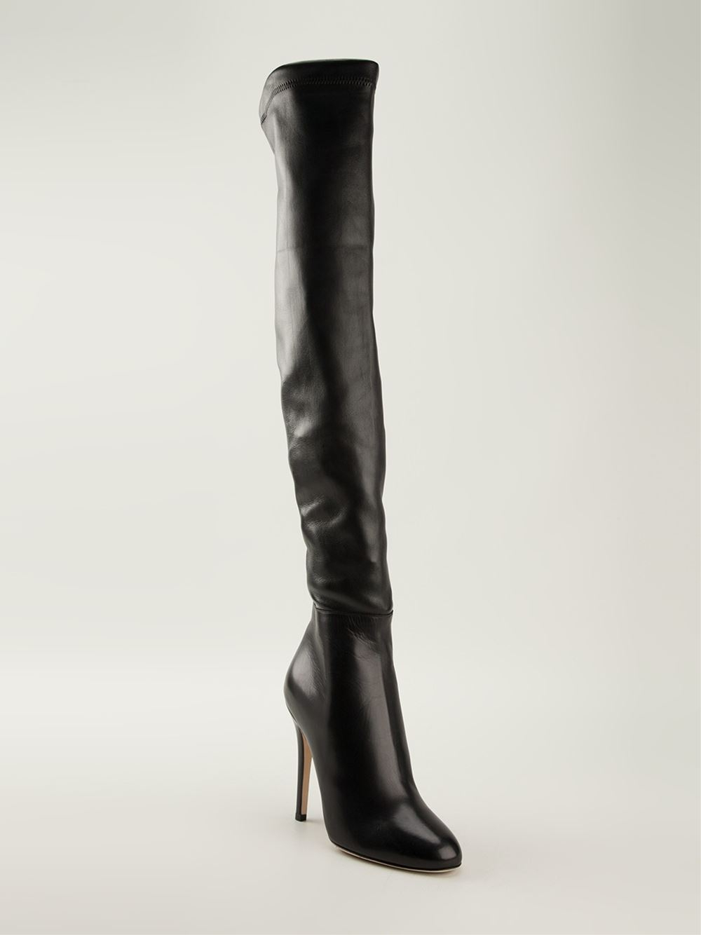 Lyst Jimmy Choo Giselle Over The Knee Boots In Black