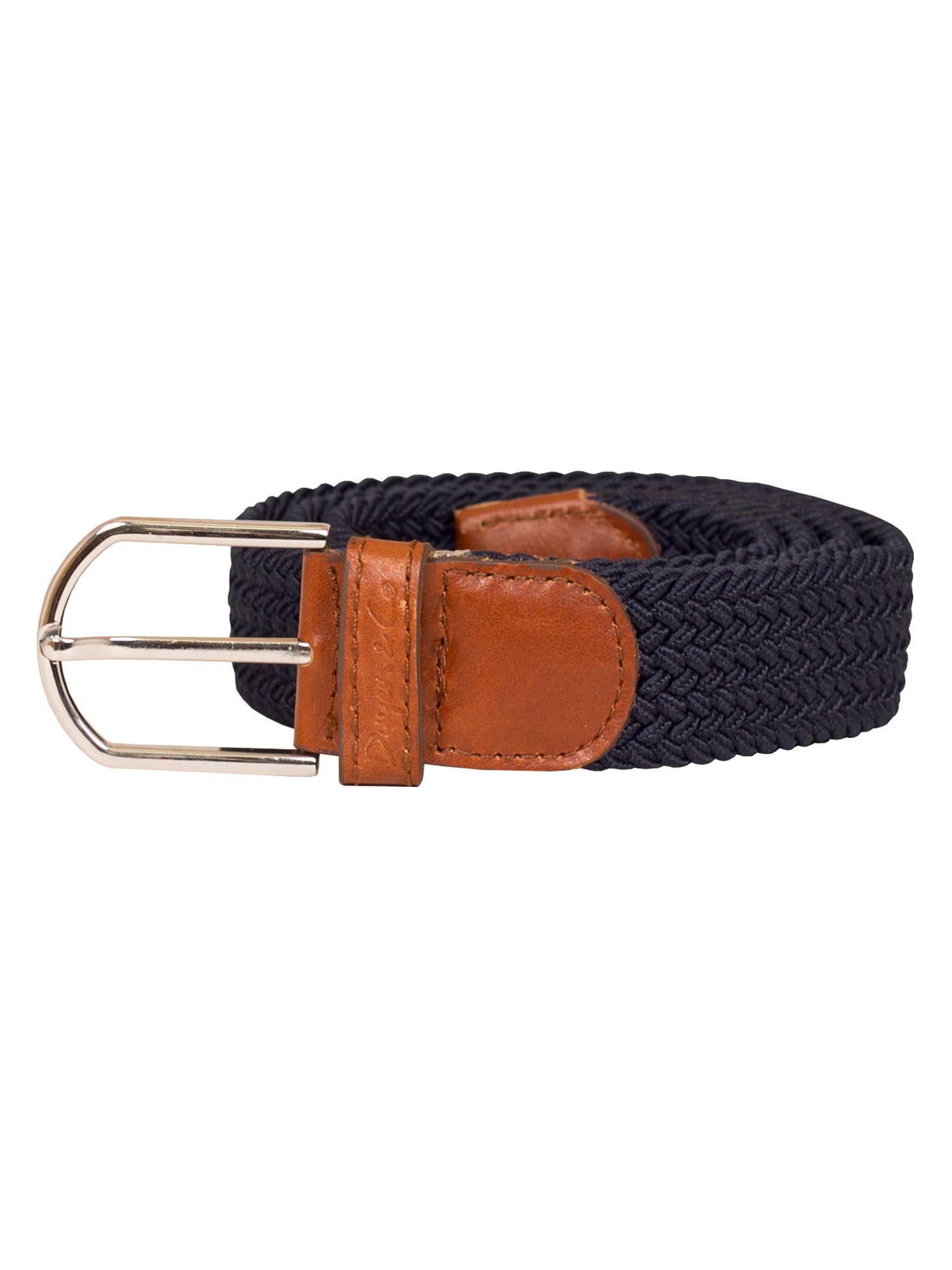 dwyers co woven belt in brown lyst
