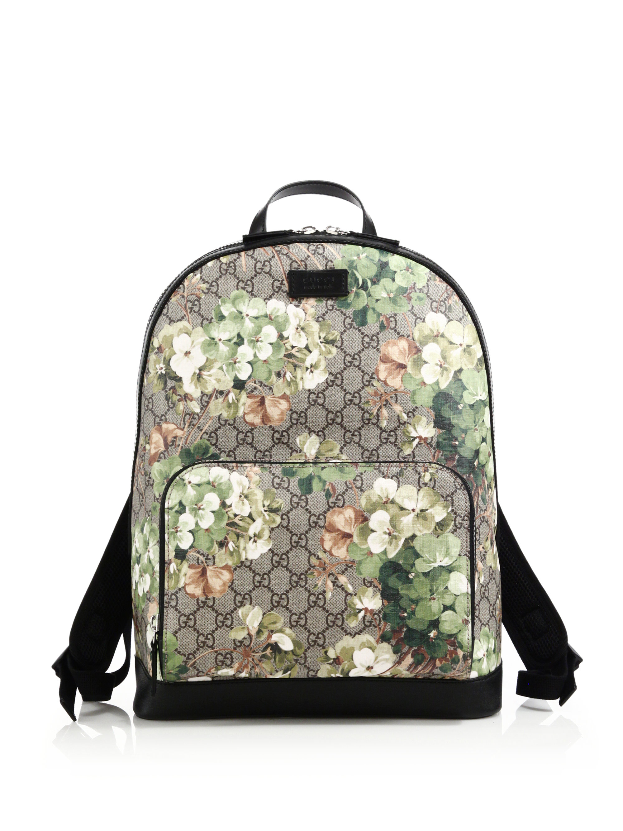 Lyst - Gucci Blooms Gg Supreme Canvas Backpack for Men 04452fed5118d