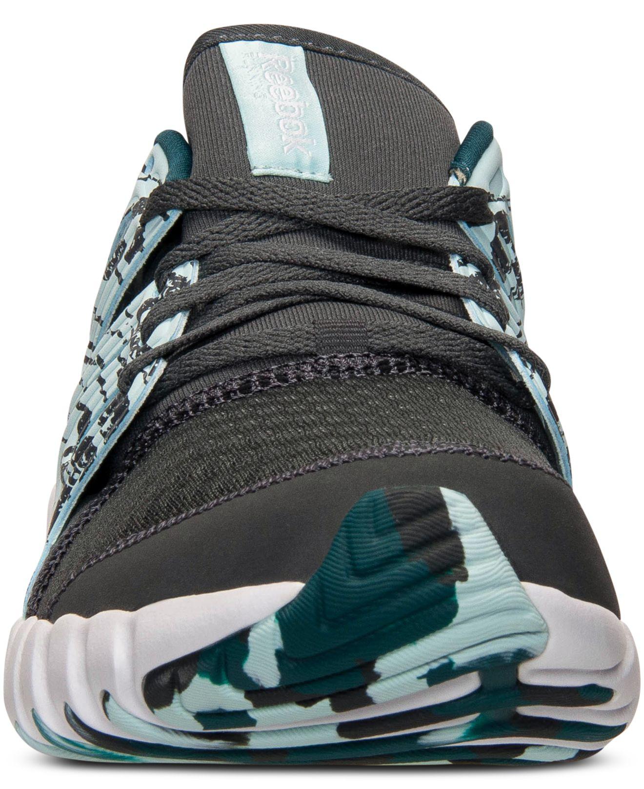 Lyst - Reebok Women s Twistform Running Sneakers From Finish Line in Blue a8fcd505314