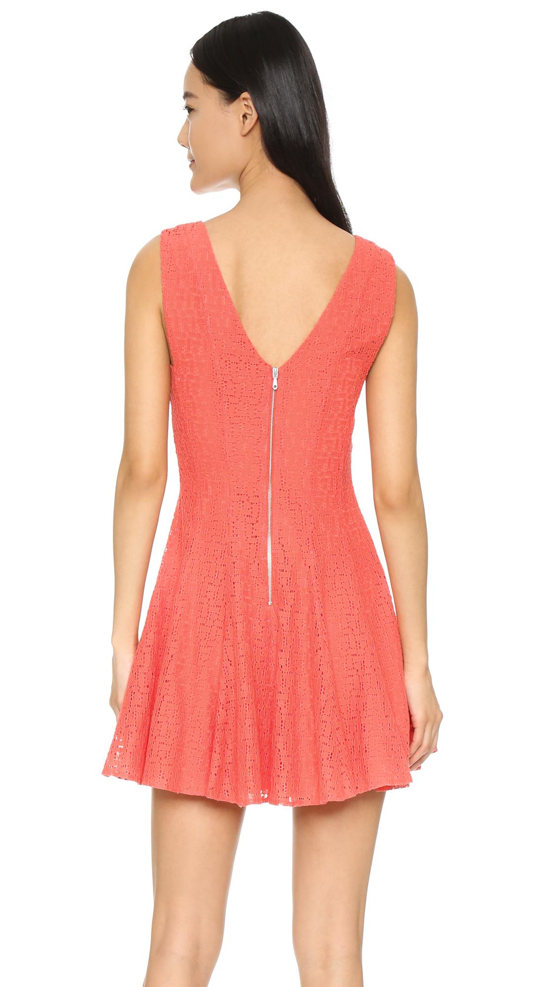 Women's Pink Auriga Dress