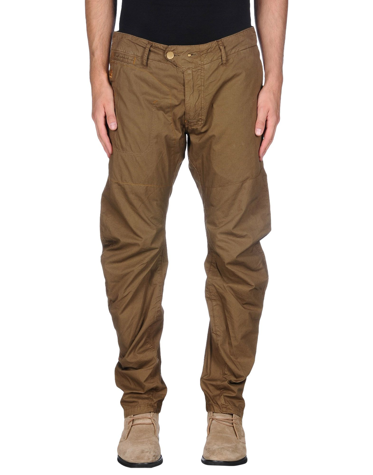g star raw casual trouser in green for men lyst. Black Bedroom Furniture Sets. Home Design Ideas