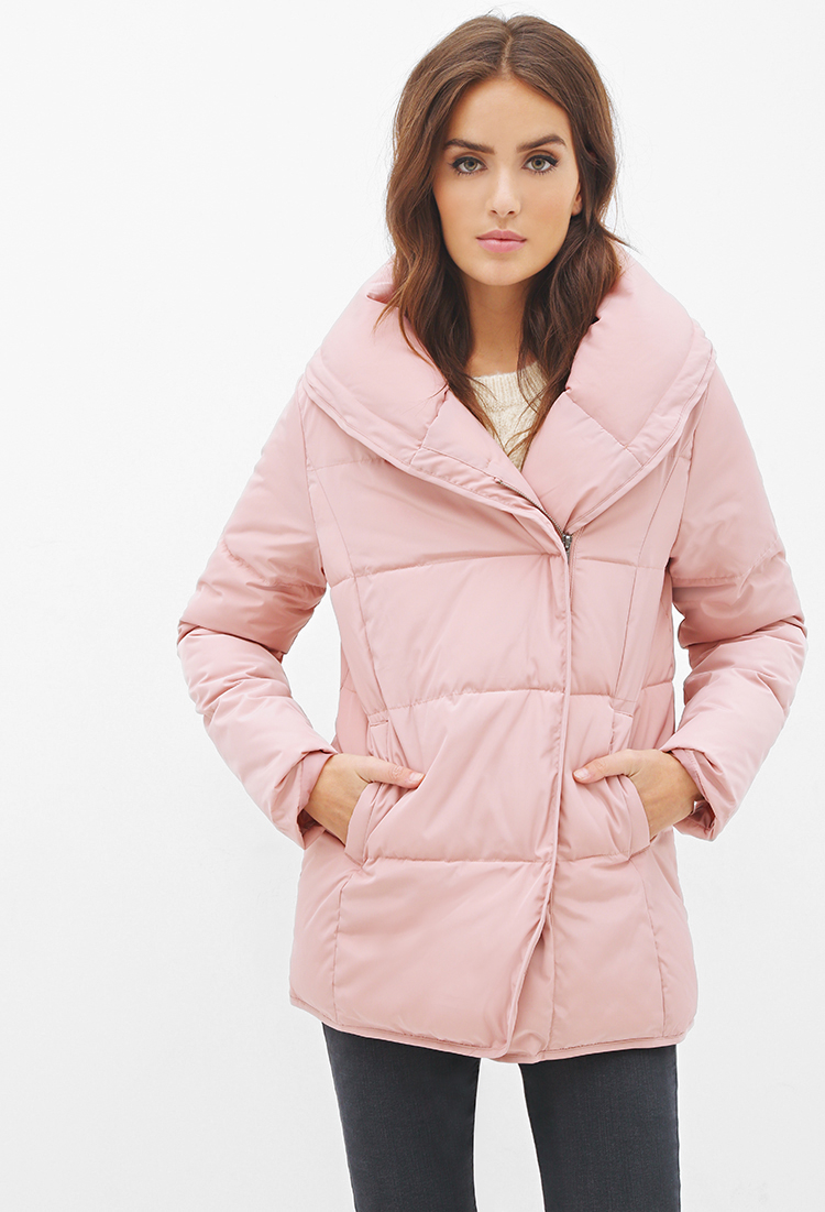 Forever 21 Contemporary Zip-up Puffer Jacket You've Been ...