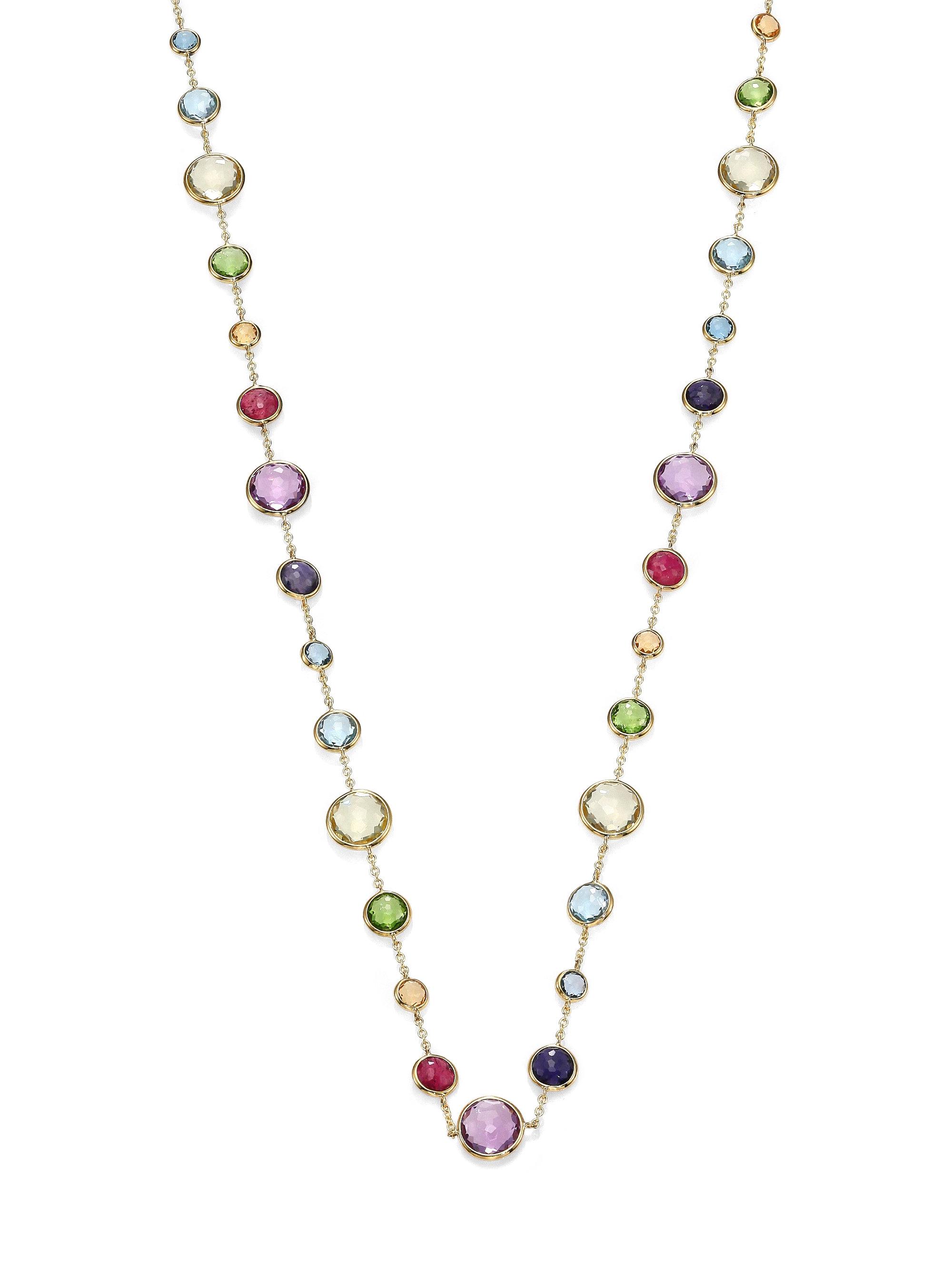 Lyst Ippolita Rock Candy Rainbow Semi Precious Multi