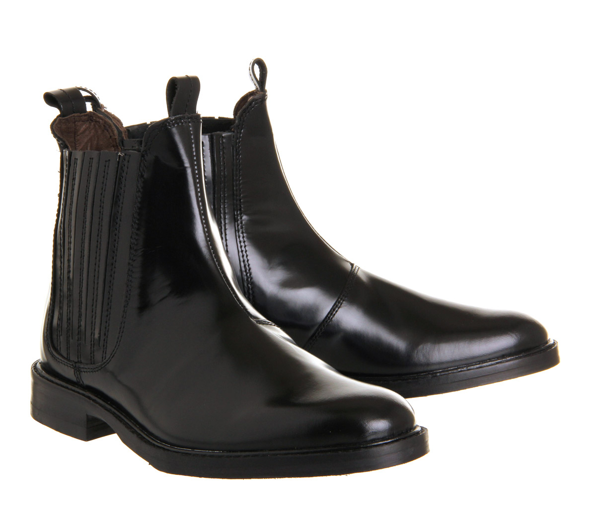 h by hudson tafler chelsea boot in black lyst. Black Bedroom Furniture Sets. Home Design Ideas