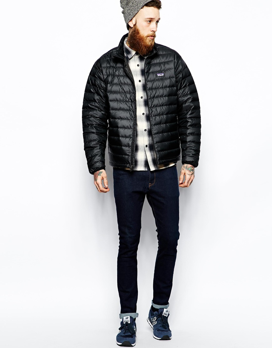 Lyst Patagonia Down Sweater Jacket In Black For Men