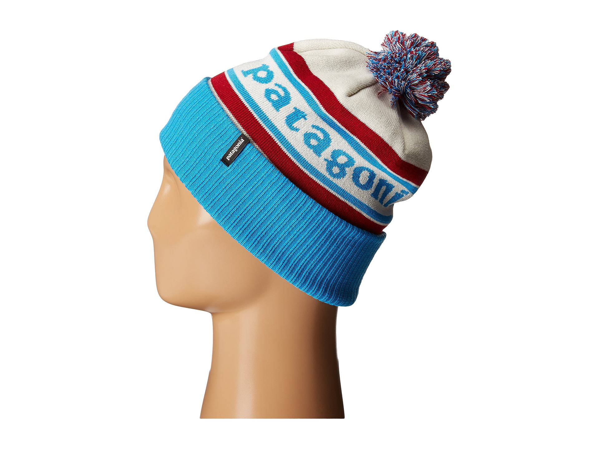 bf0d8b097d0 Lyst - Patagonia Powder Town Beanie in Red