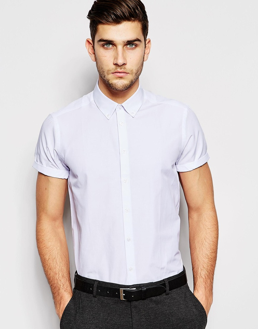 Shop the Latest Collection of Short Sleeve Casual Shirts for Men Online at gravitybox.ga FREE SHIPPING AVAILABLE!
