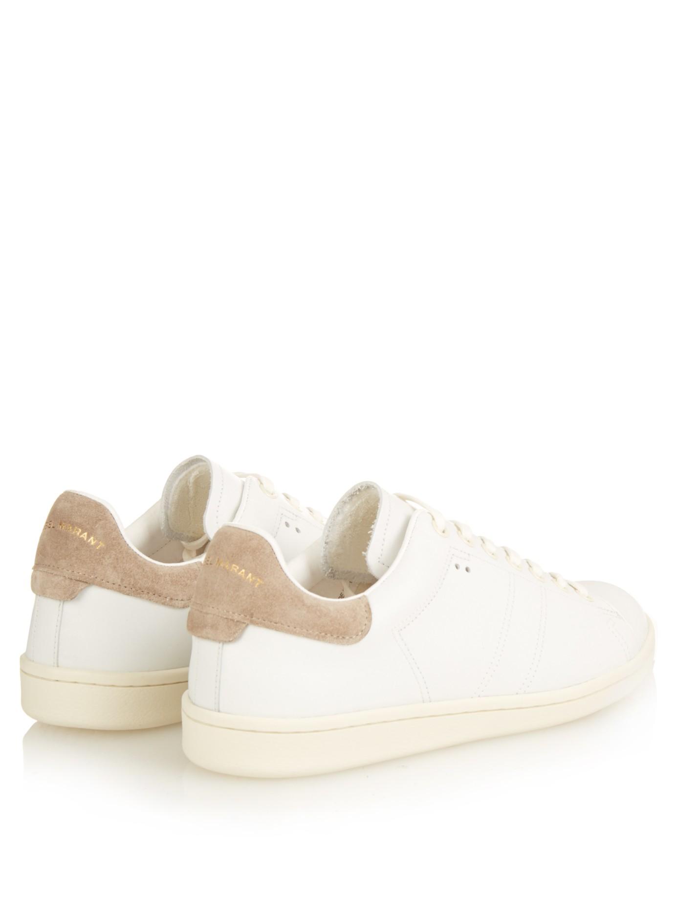 e39fe4c70de Isabel Marant Sneakers White Leather - George's Blog