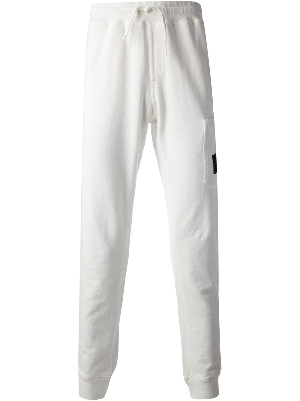 Stone island Track Pants in White for Men | Lyst
