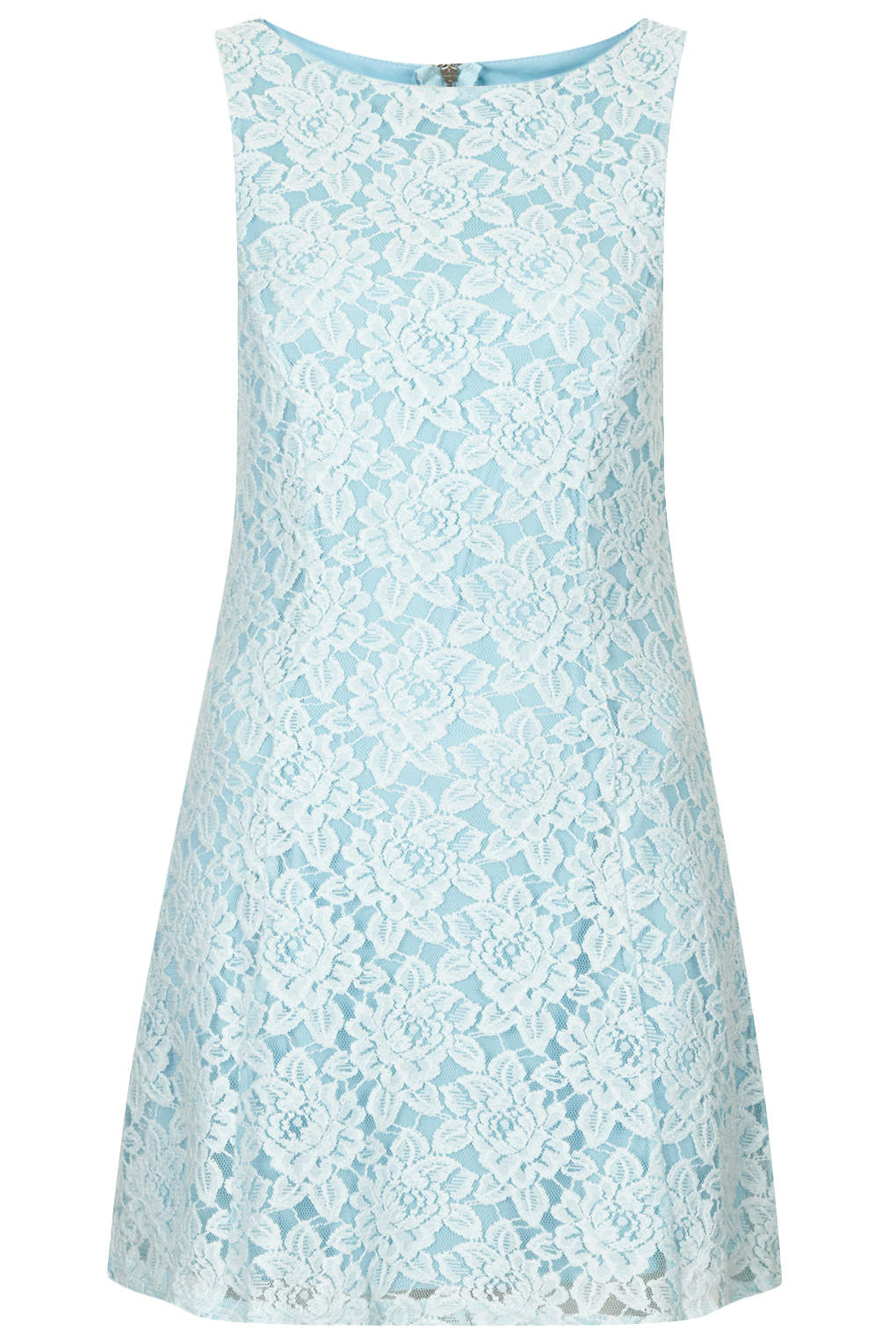 Strappy Lace Bodycon Dress   Topshop