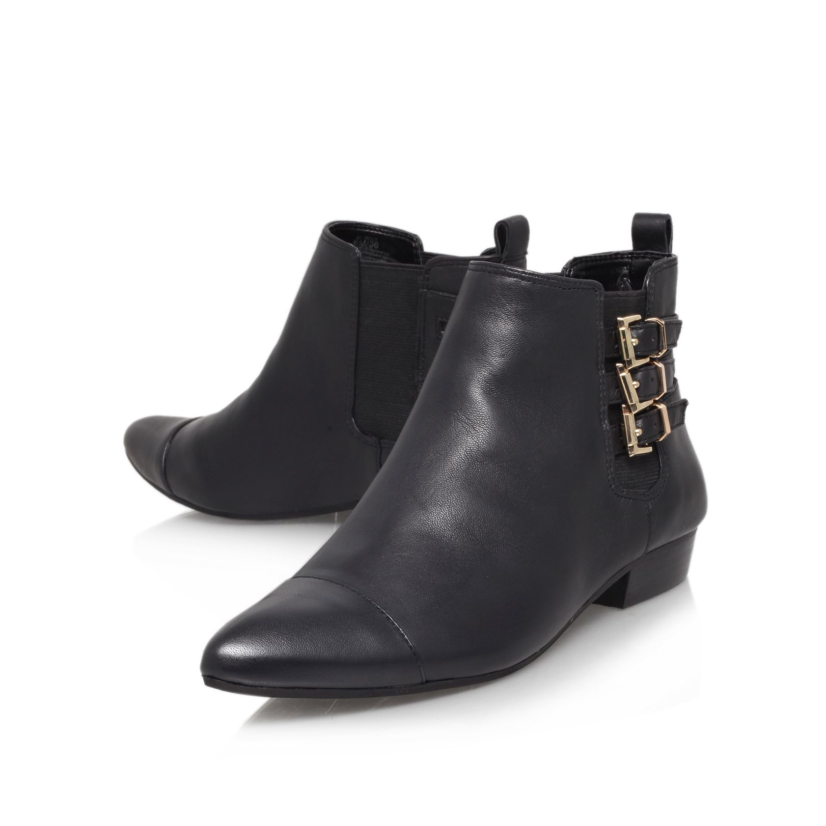 vince camuto davilla ankle boot in black lyst