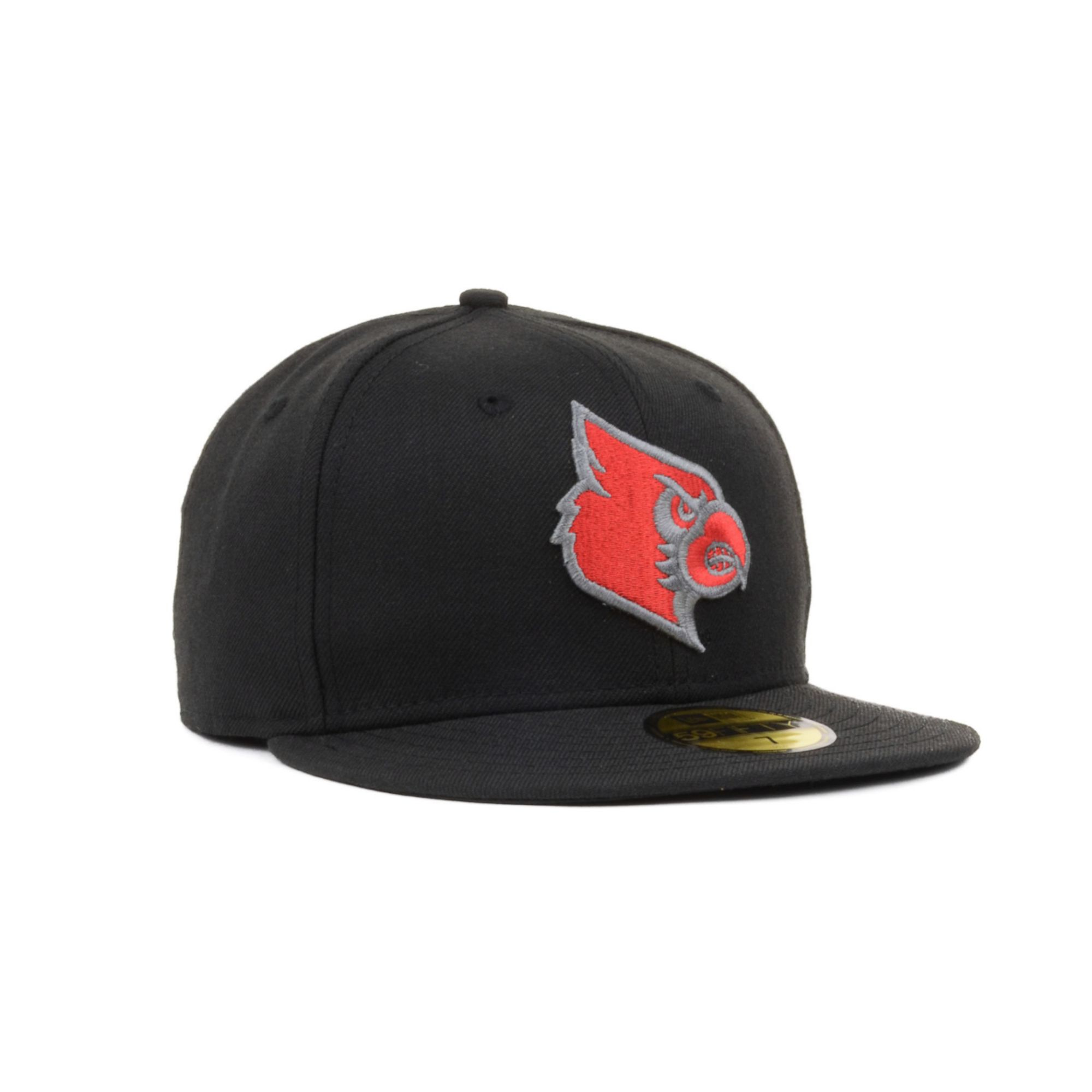 quality design af235 4a2bc KTZ Louisville Cardinals Bgp 59fifty Cap in Black for Men - Lyst