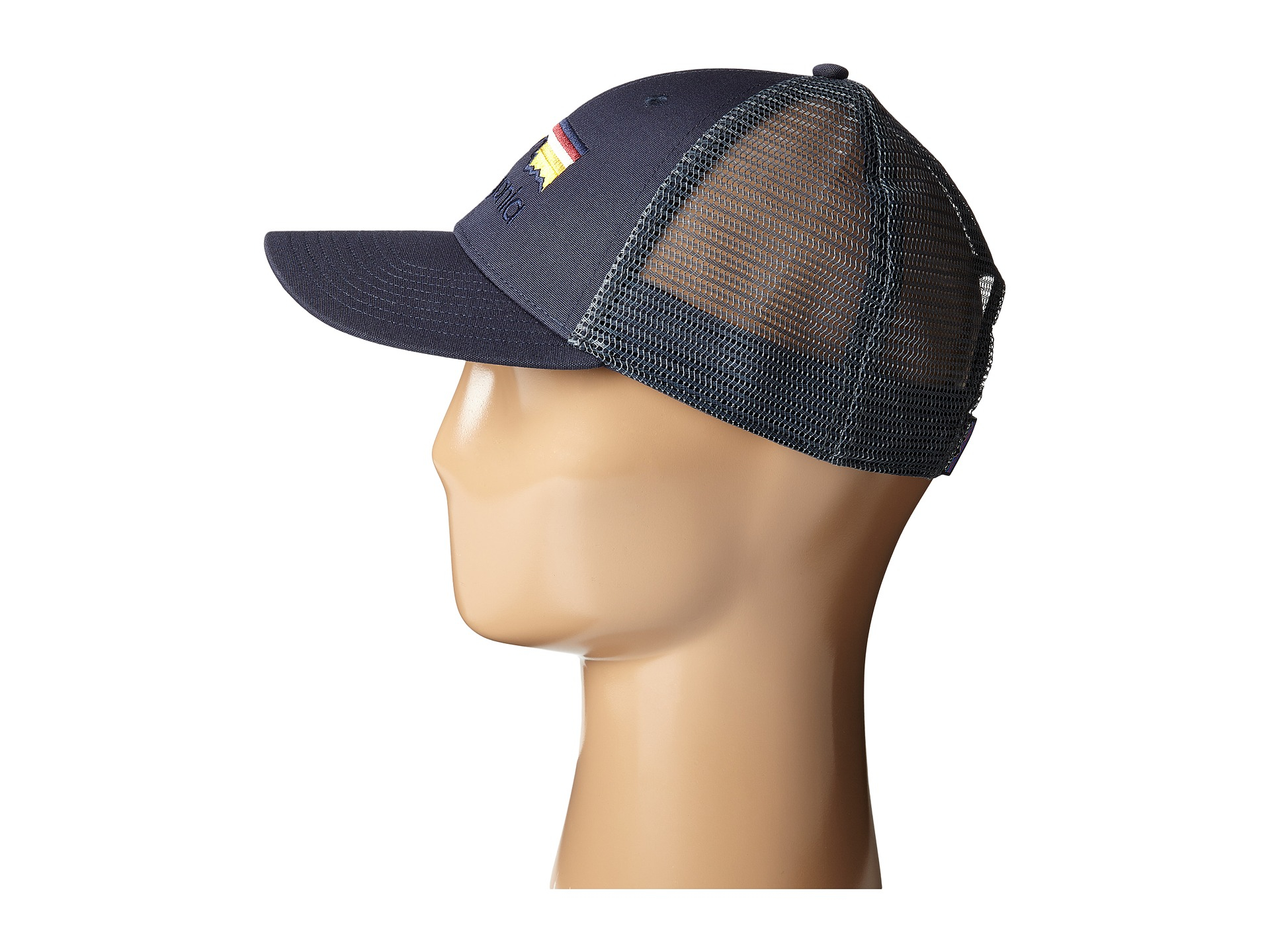ed1e2eb690085 Patagonia Line Logo Lopro Trucker Hat in Blue for Men - Lyst