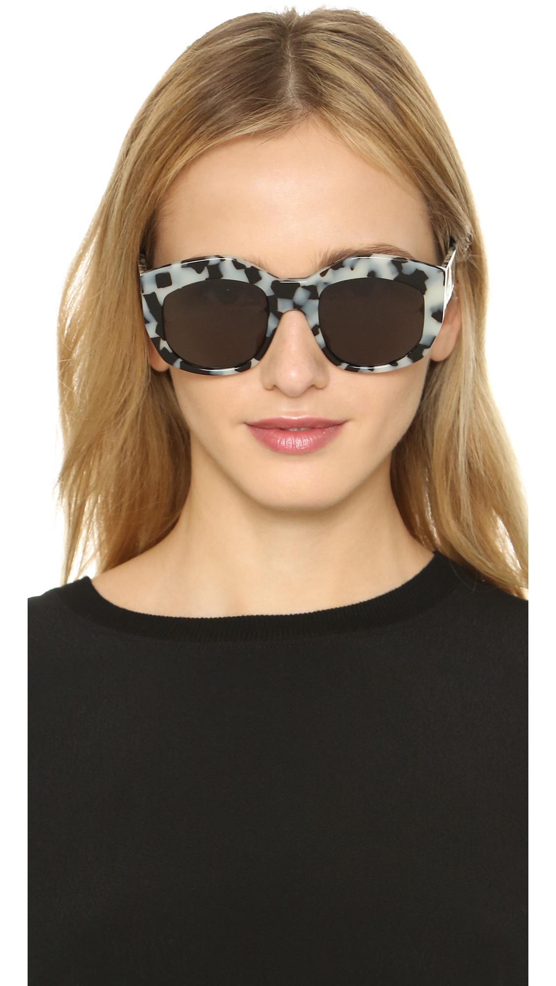 Valley Eyewear Badland Sunglasses - Snow Leopard Tort/black