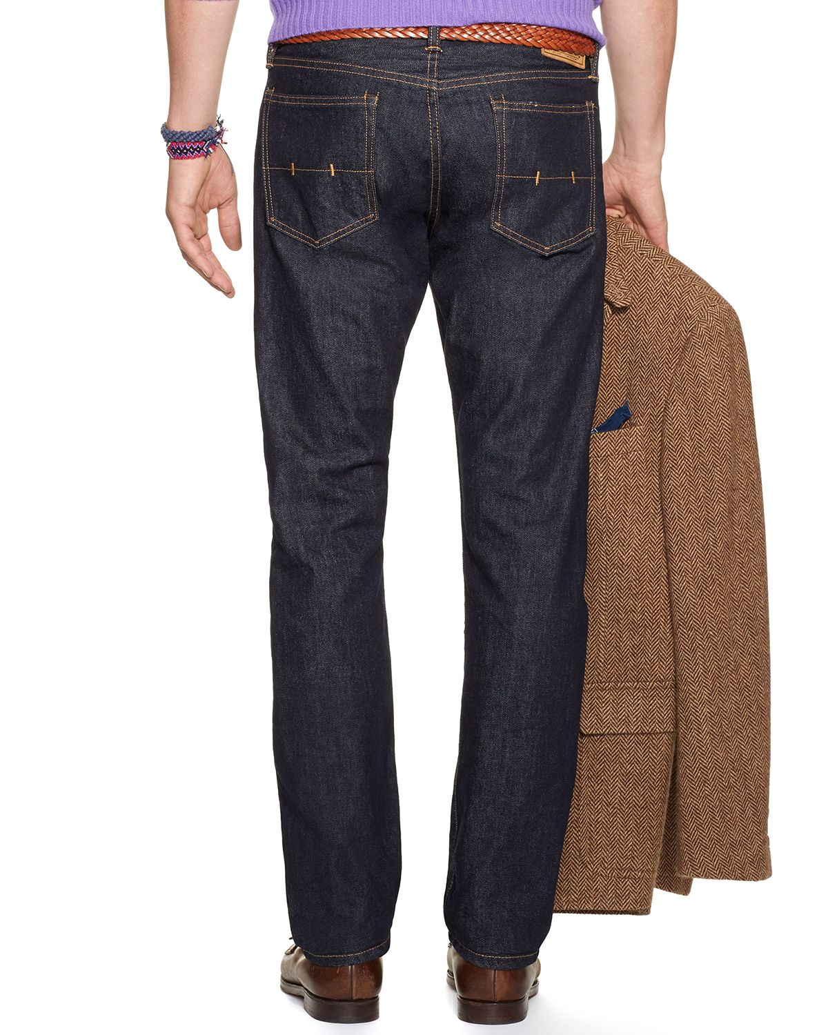 lyst ralph lauren polo jeans hampton straight fit in. Black Bedroom Furniture Sets. Home Design Ideas