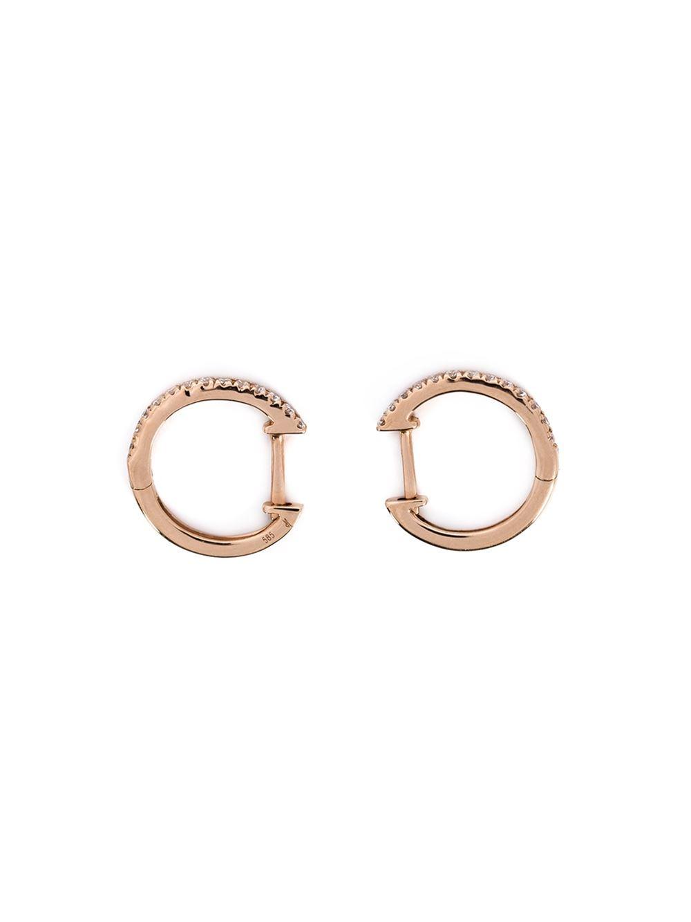Jacquie Aiche Small Half Hoop Earrings JCXqZZAZf0