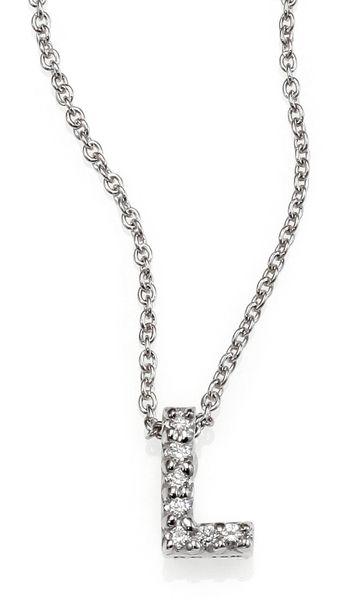 coin silver tiny treasures diamond amp 18k white gold love letter