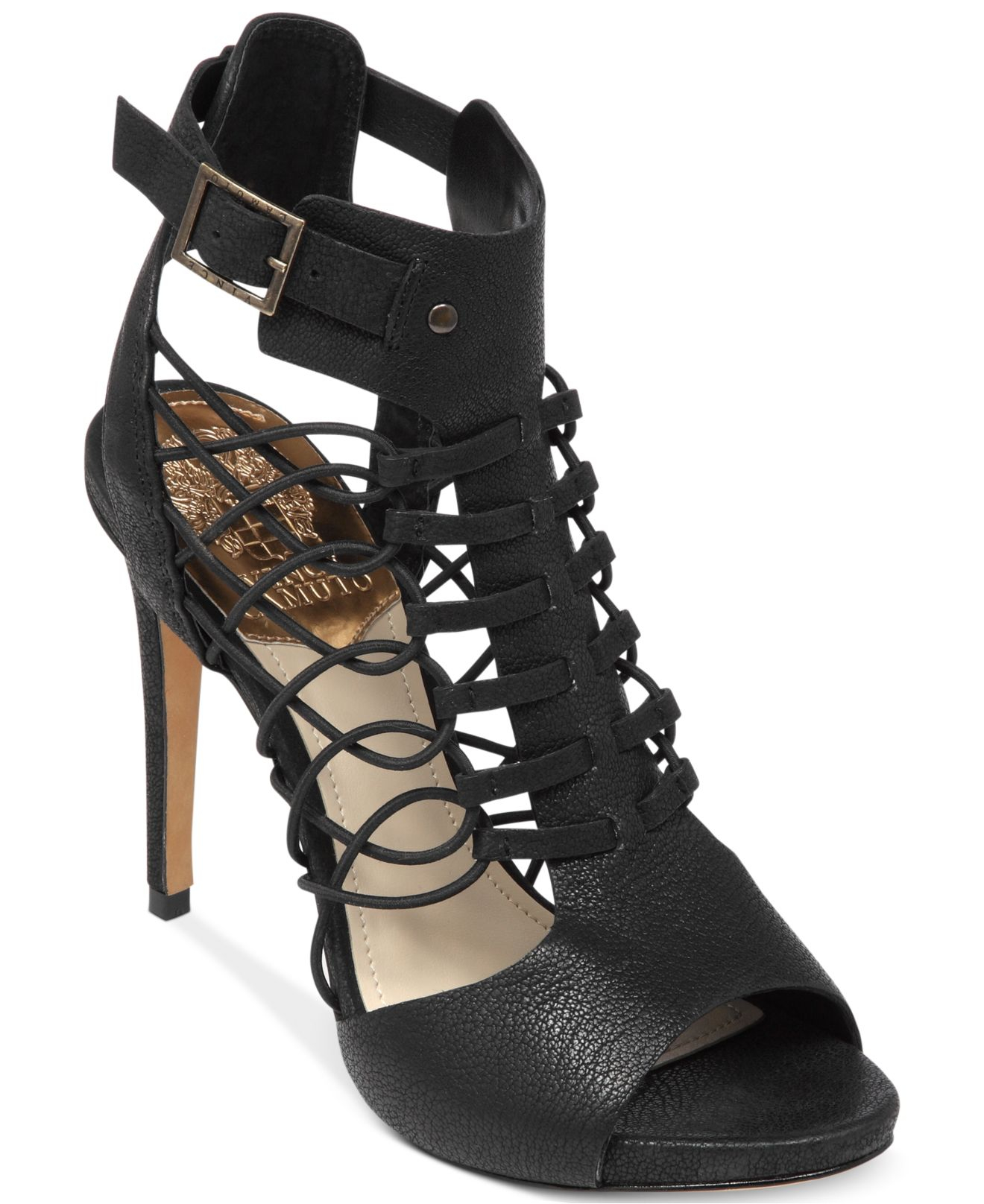 Vince Camuto Fossel Gladiator Sandals In Black Lyst