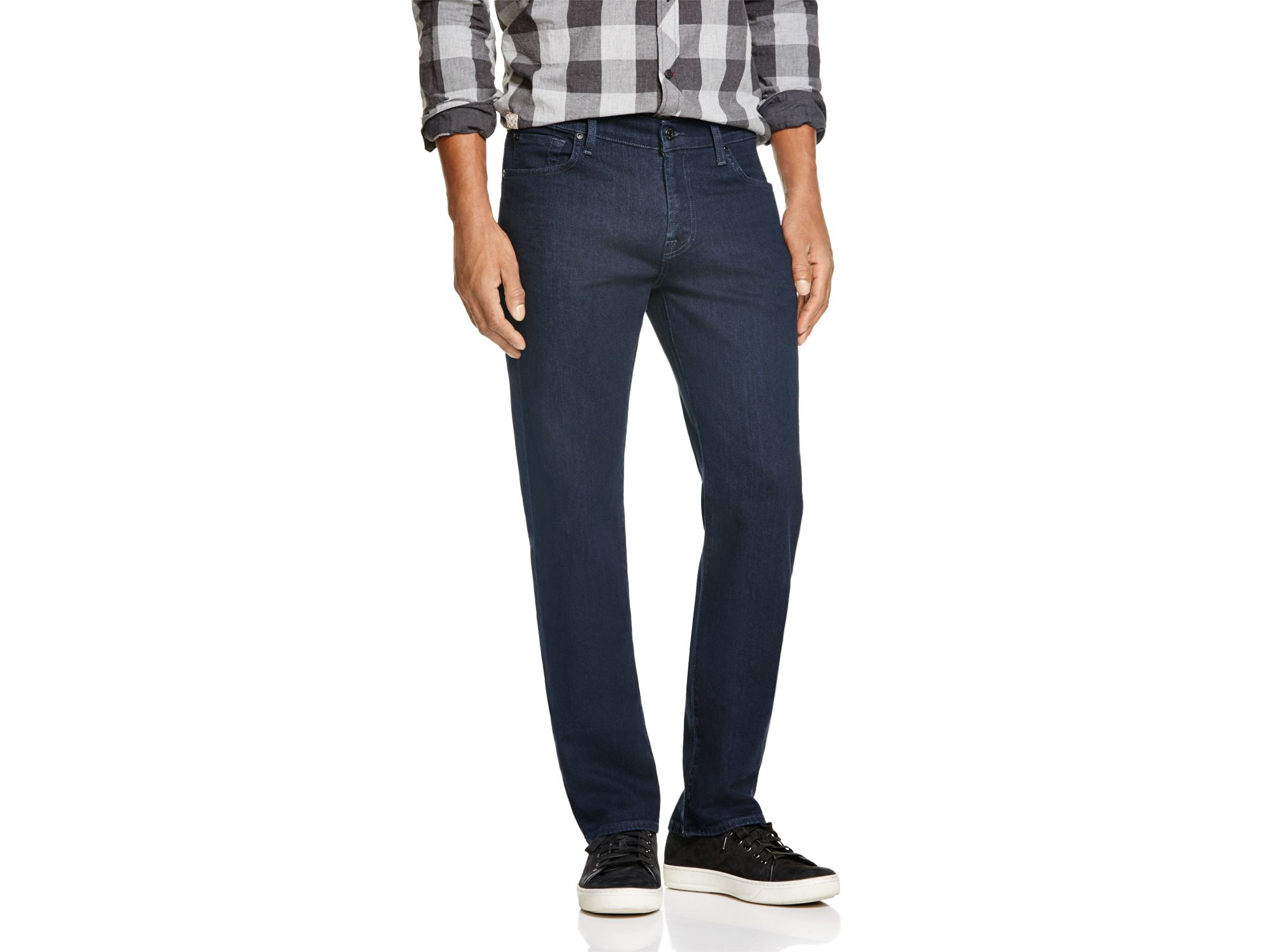 7 for all mankind Standard Classic Fit Straight Leg Jeans In ...