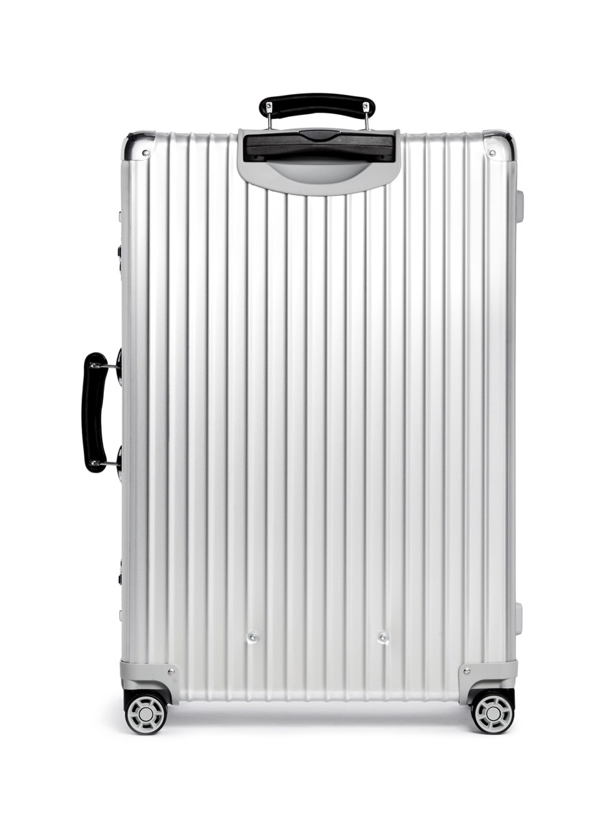 rimowa classic flight multiwheel silver 78 litre in. Black Bedroom Furniture Sets. Home Design Ideas