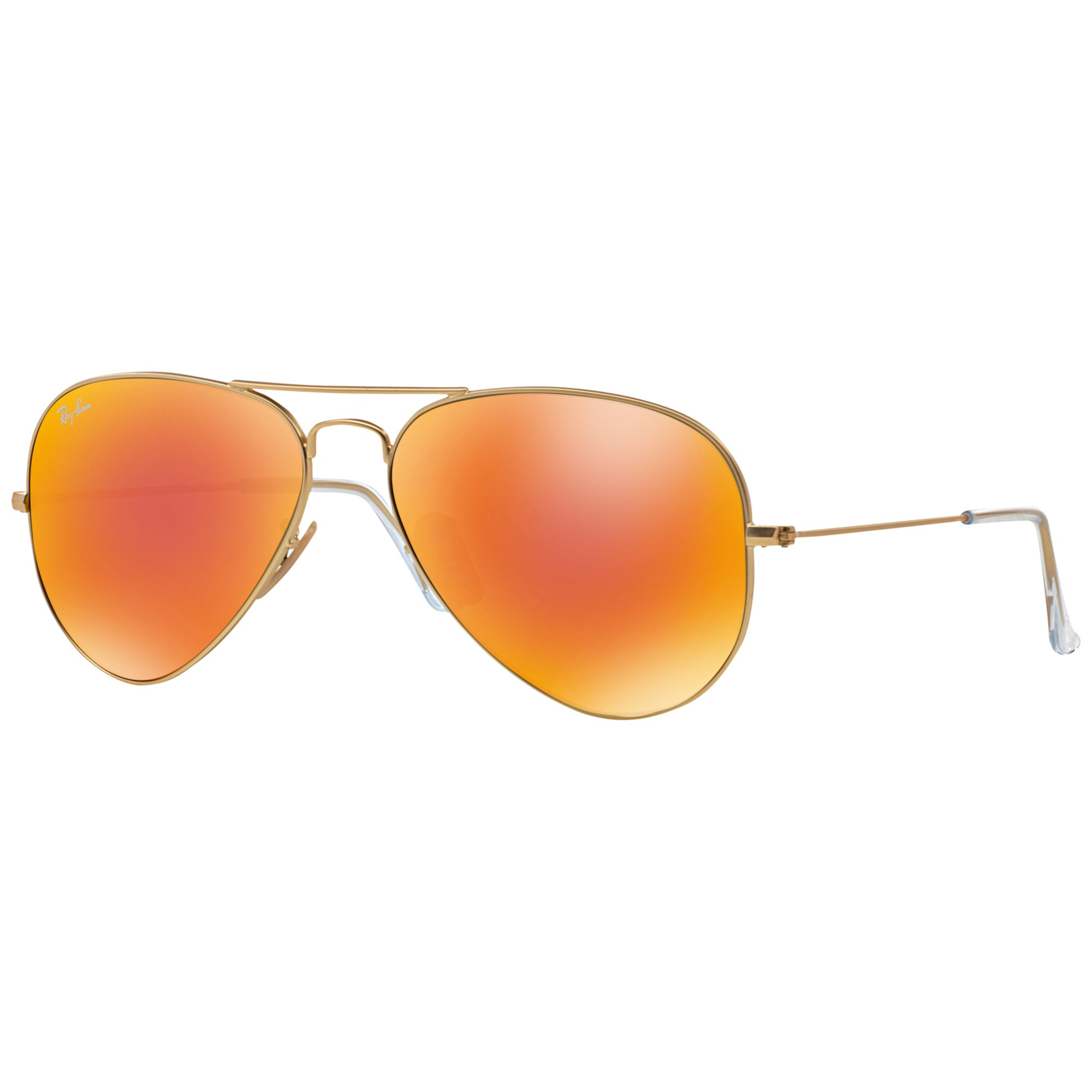 6ff49c12c0401 Ray-Ban Rb3025 Aviator Sunglasses in Orange for Men - Lyst