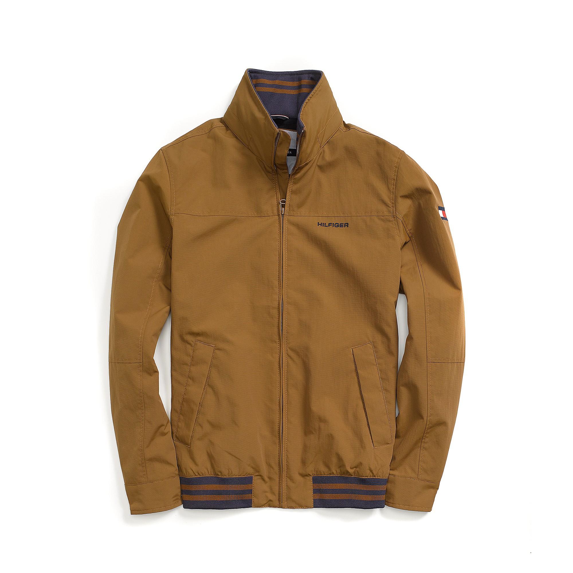 tommy hilfiger regatta jacket in brown for men cohiba. Black Bedroom Furniture Sets. Home Design Ideas