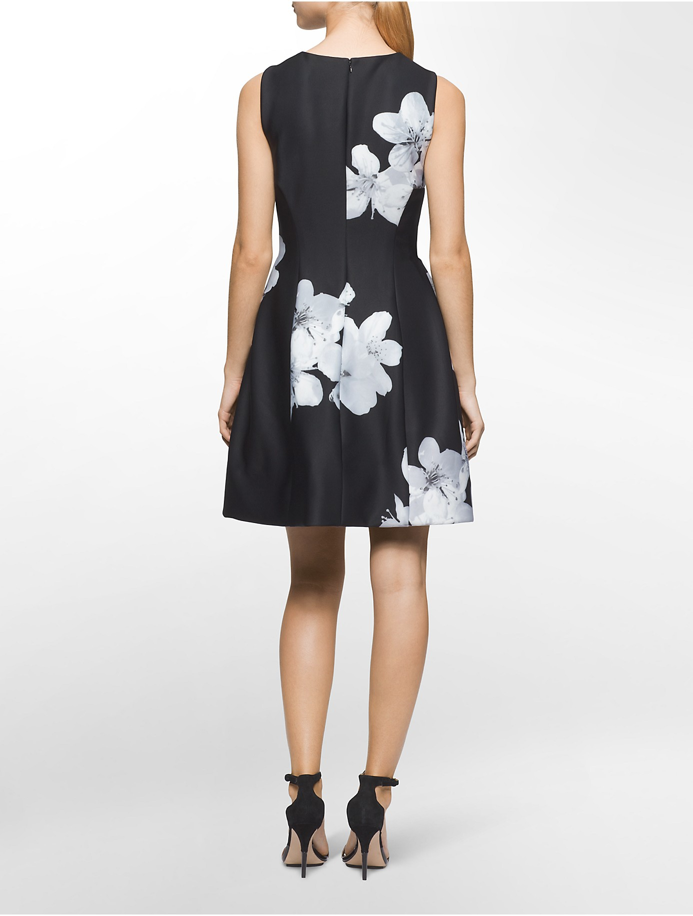 Lyst Calvin Klein White Label Exploded Floral Print